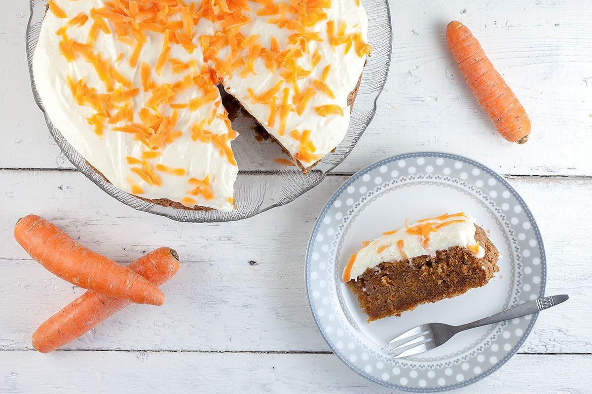Carrot cake worteltjestaart - Wortel recepten
