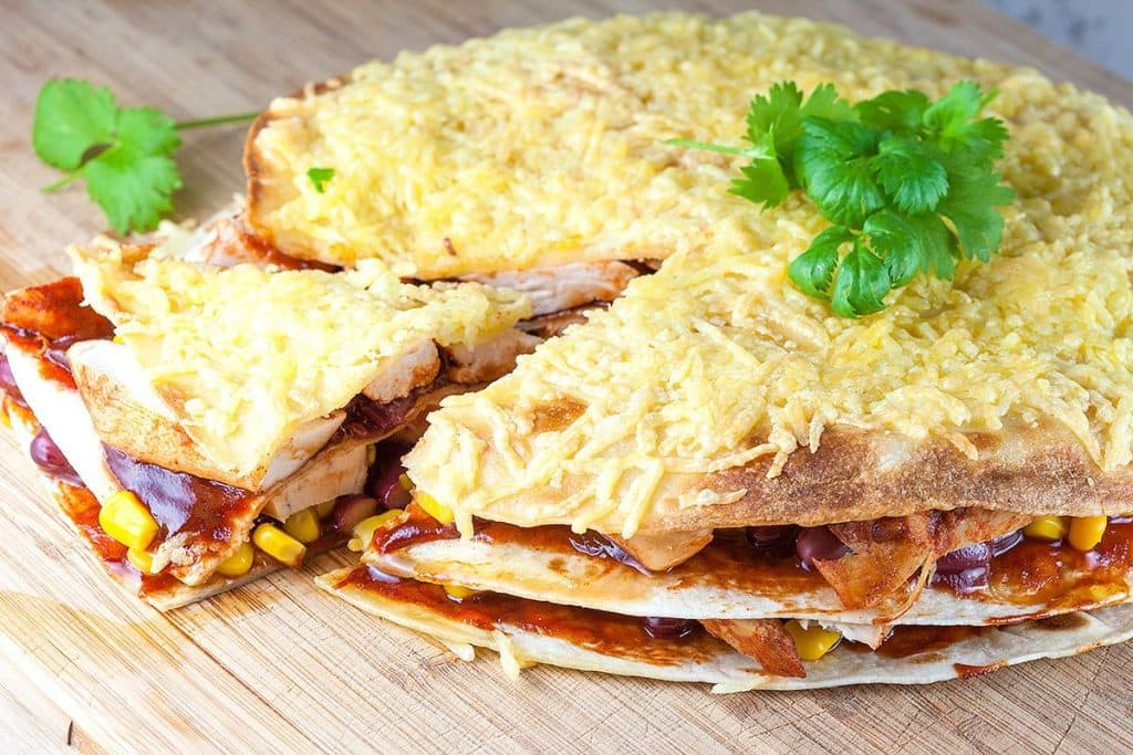 Mexicaanse quesadilla