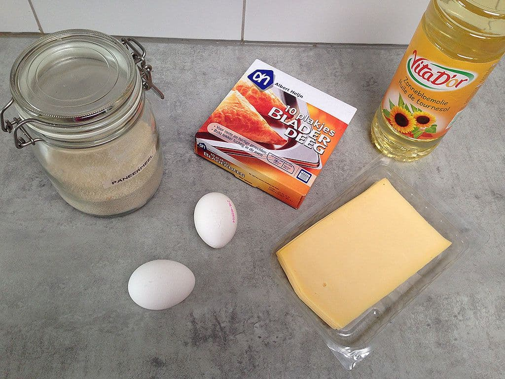Kaassoufflé ingredienten