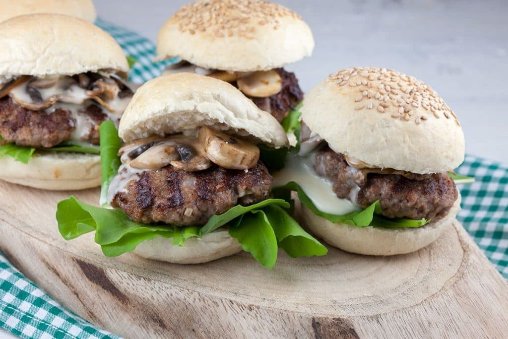 Carre d'ambre mini hamburgers