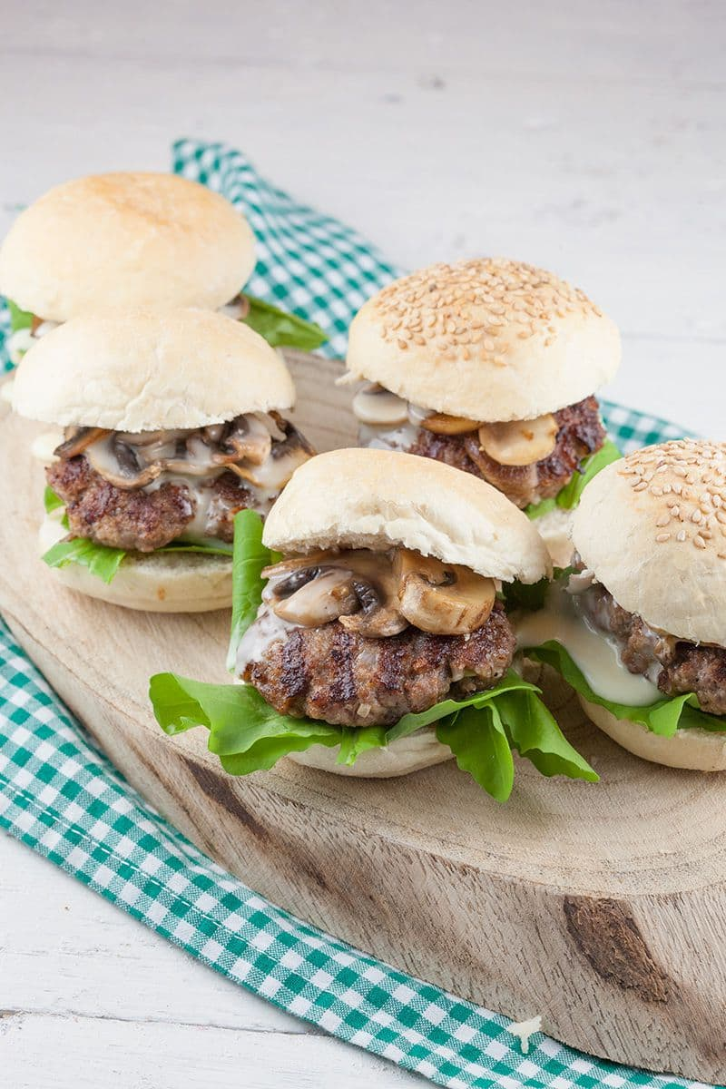 Carre dambre mini hamburgers 2 - Carre d'ambre mini hamburgers