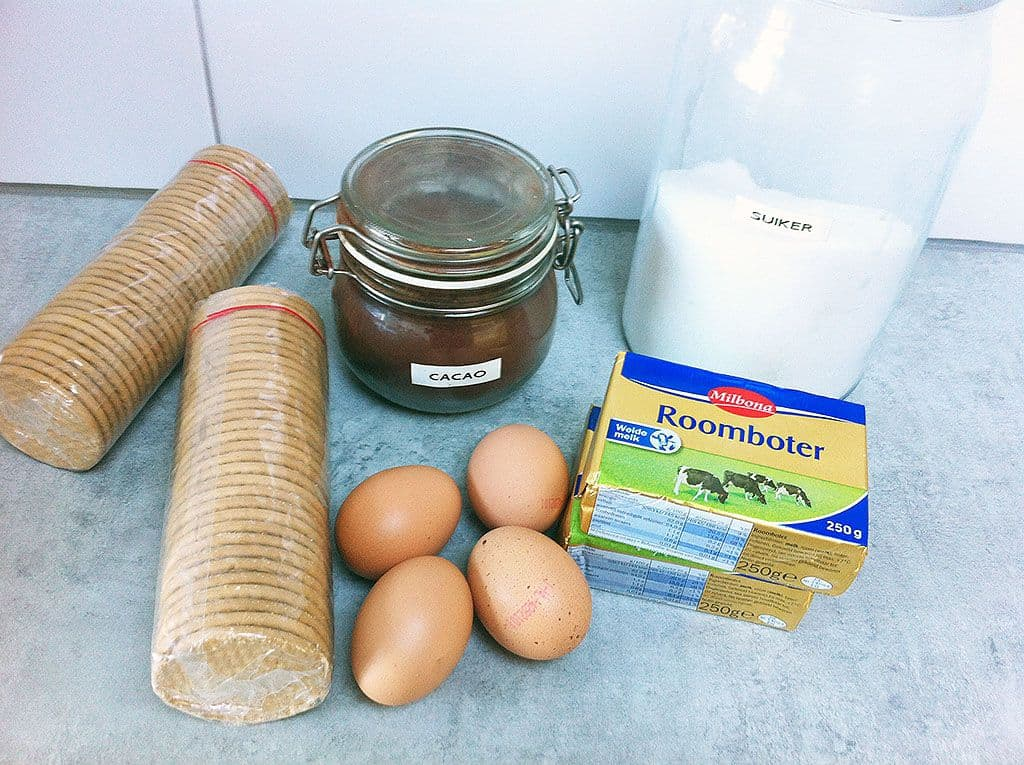 Arretjescake ingredienten