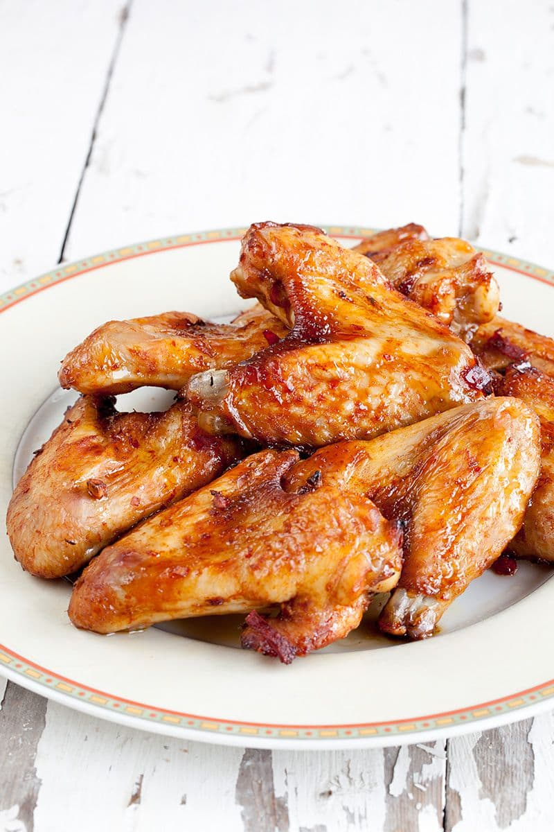 Buffalo chicken wings (pittige kipvleugels)