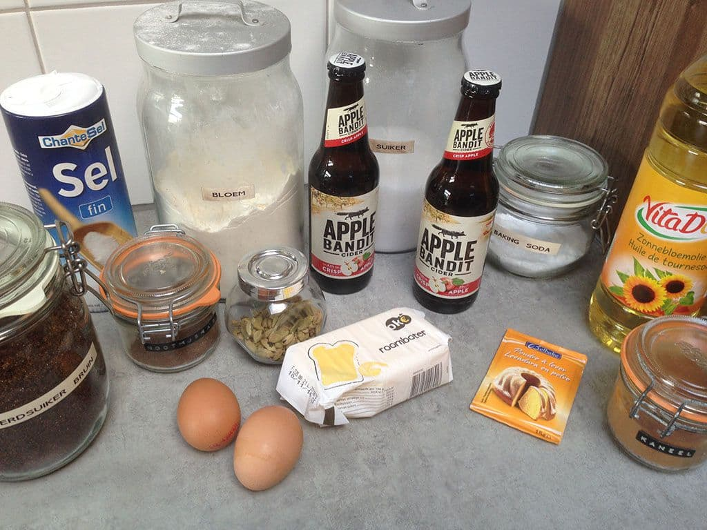 Appel cider donuts ingredienten
