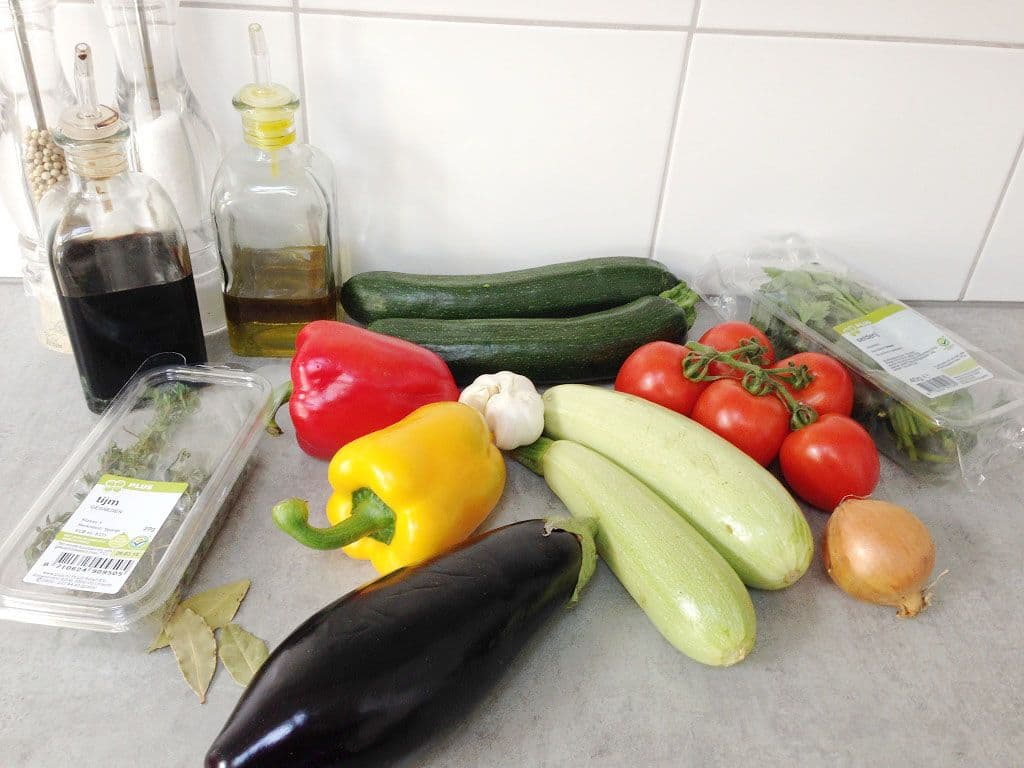 Remys ratatouille ingredienten - Remy's ratatouille