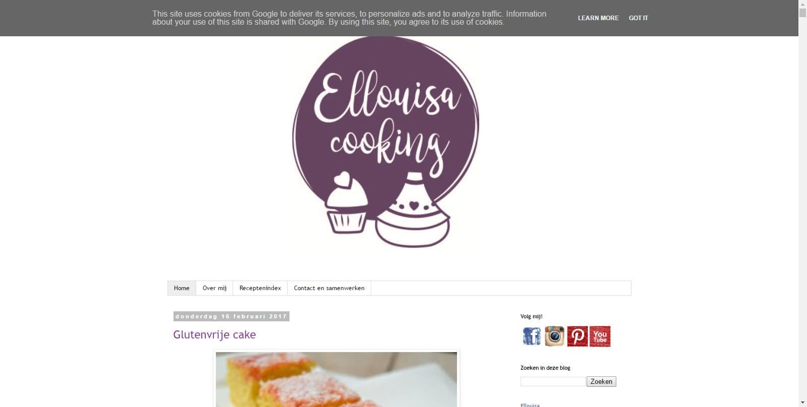 Ellouisa cooking door Ellouisa Scholten