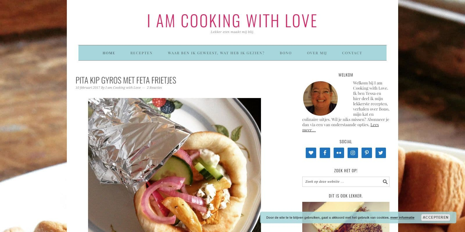 I am cooking with love door Tessa Zijlstra