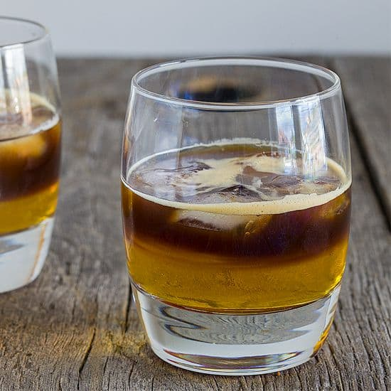 Carajillo – koffie cocktail vierkant - Carajillo - koffie cocktail