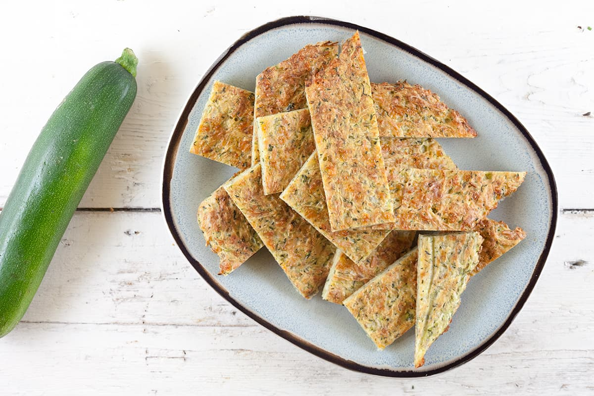 Courgette-kaas brood